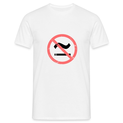 The Commercial NO SMOKING (Salmon) - Men's T-Shirt
