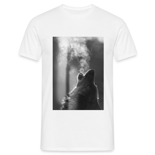 SmokingBear jpg - Mannen T-shirt