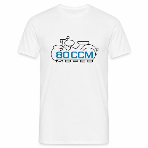 Moped sparrow 80 cc emblem - Men's T-Shirt