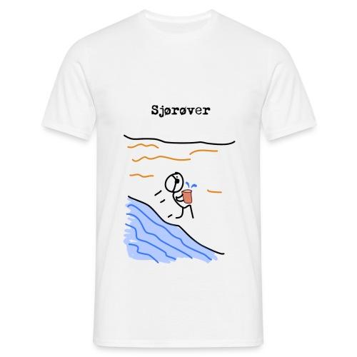 sjorover png - T-skjorte for menn