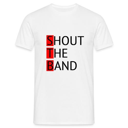 shout-logo-m - Miesten t-paita