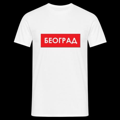Beograd - Utoka - Männer T-Shirt