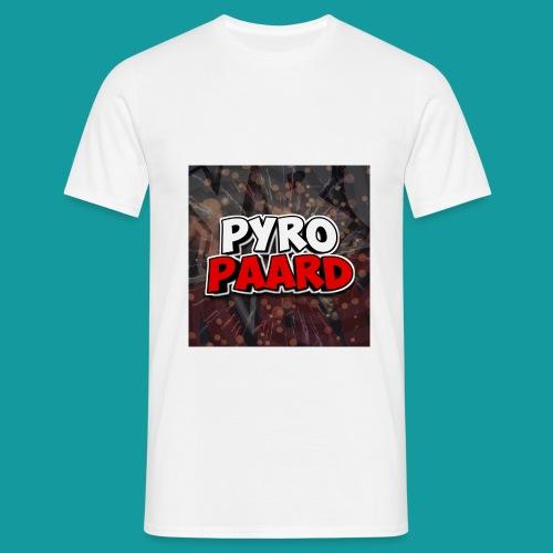 PyroPaard - Mannen T-shirt