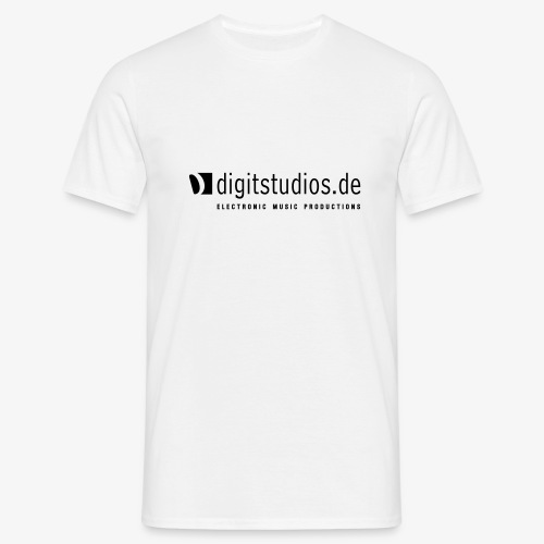 digit logo original - Männer T-Shirt