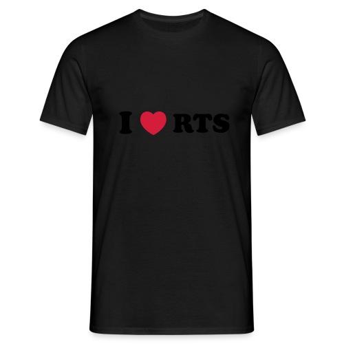 I love RTS - Men's T-Shirt