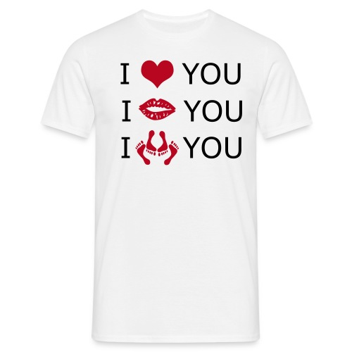 love - Mannen T-shirt