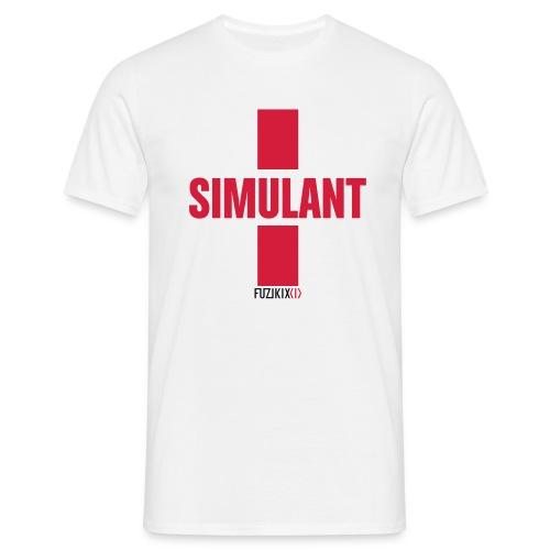 simulant - Männer T-Shirt