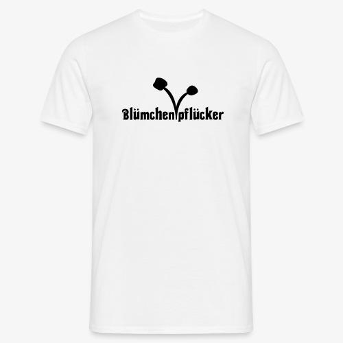 Blümchenpflücker - Männer T-Shirt