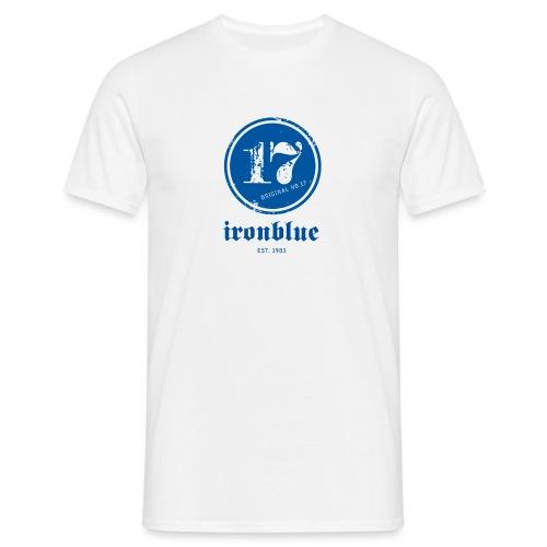ironblueno17schrift gross - Männer T-Shirt