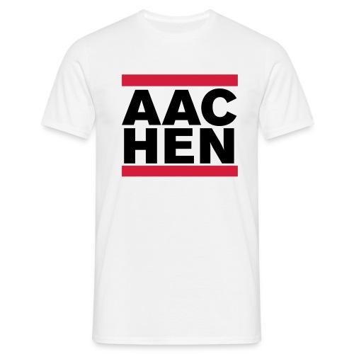 aachenwhite - Männer T-Shirt