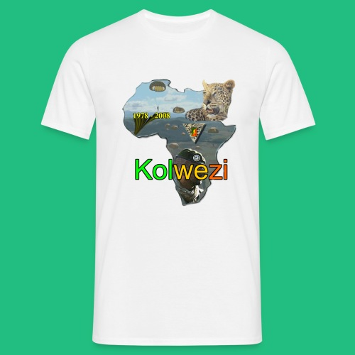 KOLWEZI 2REP - T-shirt Homme