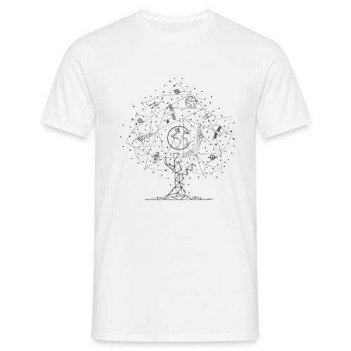 Interpretacja woodspace - Koszulka męska