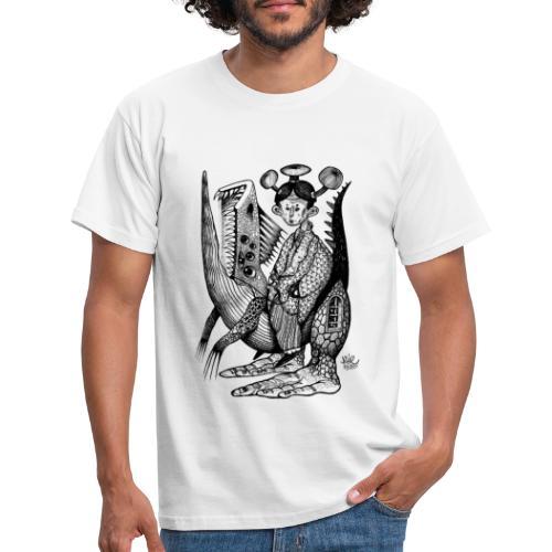 BUE2530 X iorestoacasaArtistiUniti - Maglietta da uomo