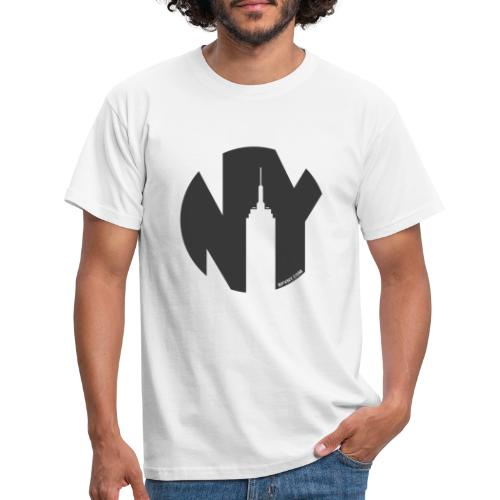 Logo French Yorker noir - T-shirt Homme