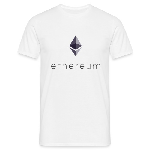 Cryptocurrency - Ethereum (ETH) - Männer T-Shirt