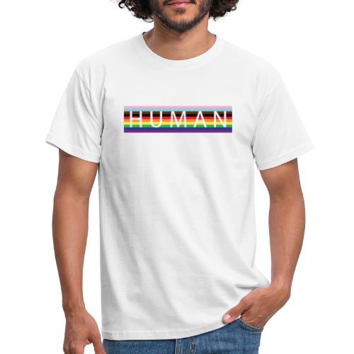 Human Flag Gay - Camiseta hombre