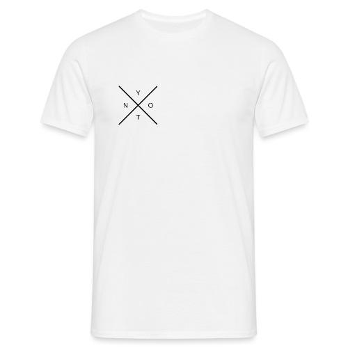 WhyNot Logo 3 - Männer T-Shirt