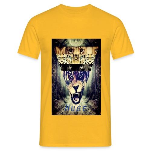 HUGETIGER png - Mannen T-shirt