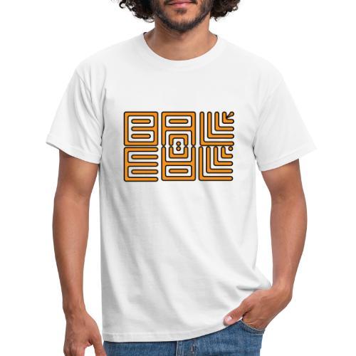 Wa-Dee-Ba Orange Edition - T-shirt Homme