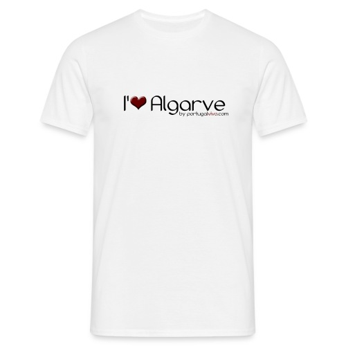 I Love Algarve - T-shirt Homme