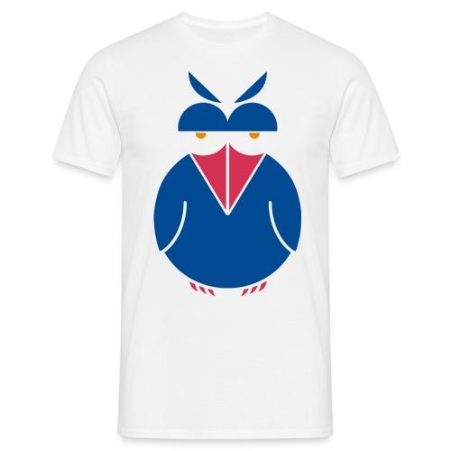 insolent bird_blue1 - Männer T-Shirt