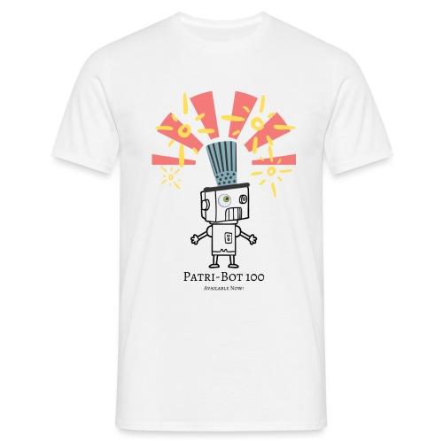 Patri-Bot 100 - Men's T-Shirt