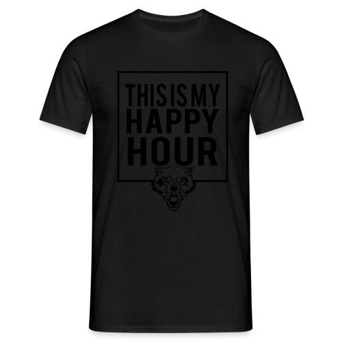 THIS IS MY HAPPY HOUR - Camiseta hombre