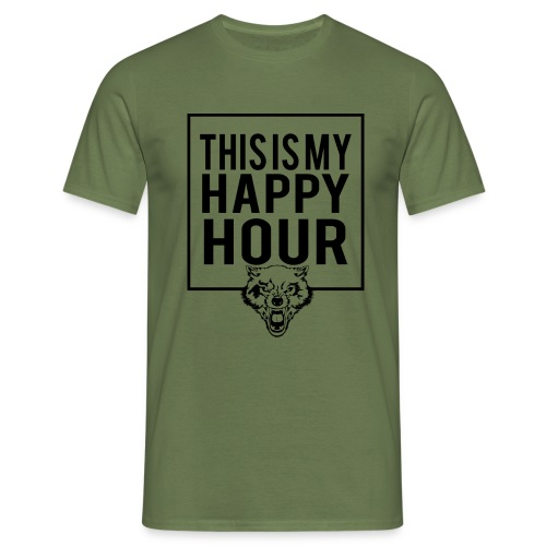 THIS IS MY HAPPY HOUR - Camiseta hombre