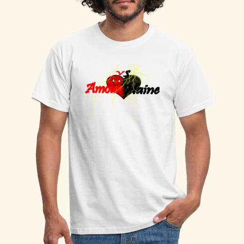 Amour & Haine - T-shirt Homme