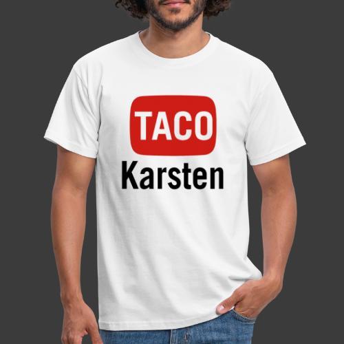 Taco Karsten Youtube Logo - Herre-T-shirt