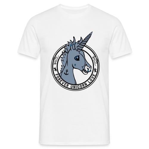 Colt - Unicorn Love (onwhite) - Männer T-Shirt