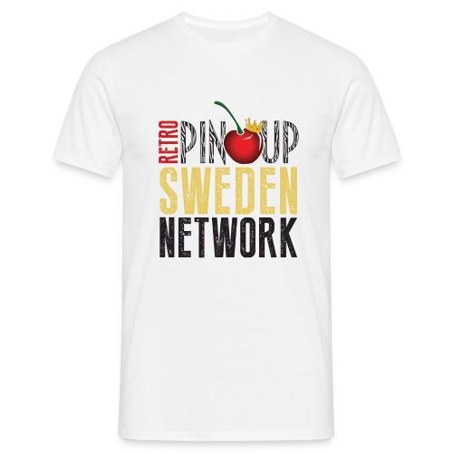 Tanktop Retro Pinup Sweden Crew utsvängd - T-shirt herr