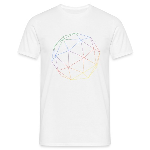 RAINBOW CUBE - Männer T-Shirt