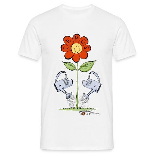 cepos blomst - Herre-T-shirt