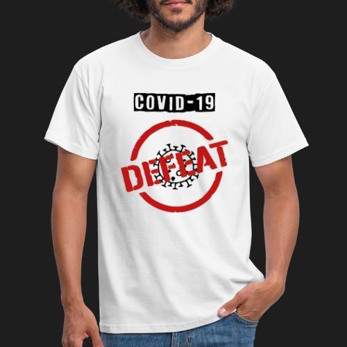 covid 19 - Camiseta hombre