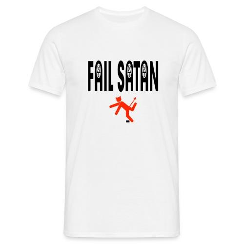Fail satan - T-shirt herr