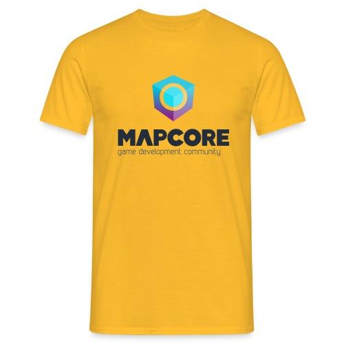 ver Positive fullColor png - Men's T-Shirt