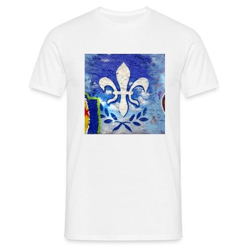 Graffiti Lilie - Männer T-Shirt