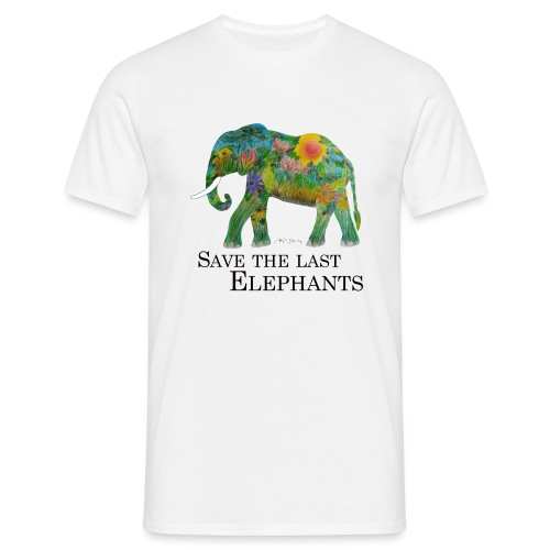 Save The Last Elephants - Männer T-Shirt
