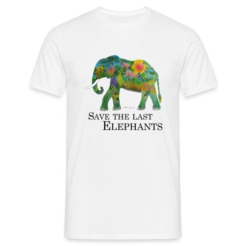 Save The Last Elephants - Männer T-Shirt
