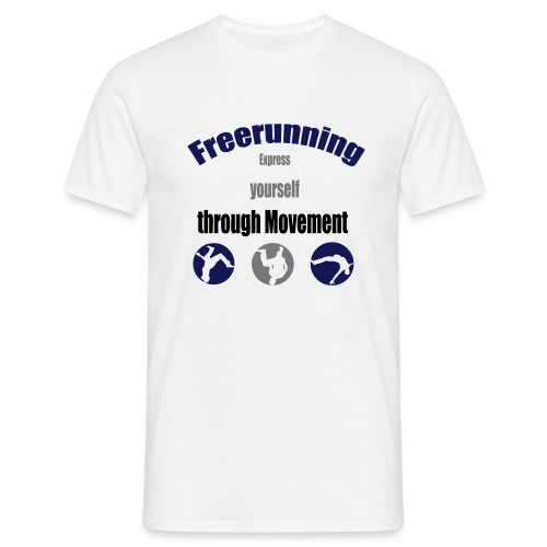 express yourself tri - Männer T-Shirt