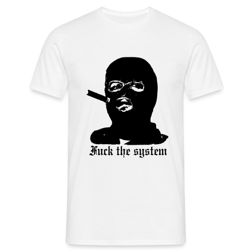 Fuck the System - Miesten t-paita