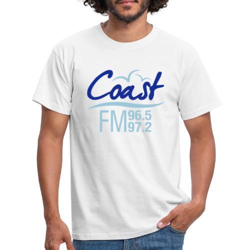 Coast FM colour logo - Men's T-Shirt