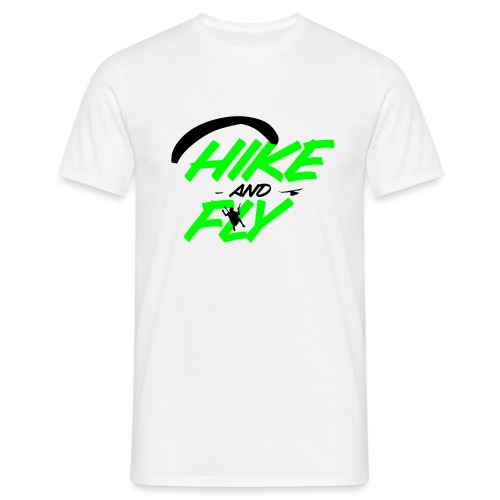 Hike and Fly Paragliding - Männer T-Shirt