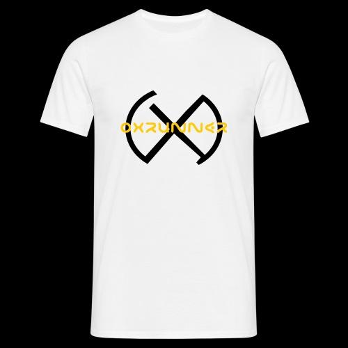 Oxrunner logo gold - Men's T-Shirt