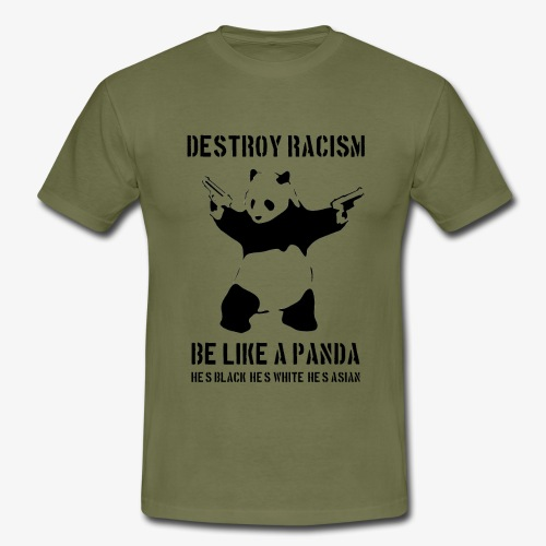 DESTROY RACISM - Men's T-Shirt