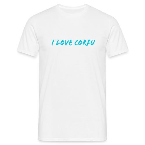 I Love Corfu Griechenland - Männer T-Shirt