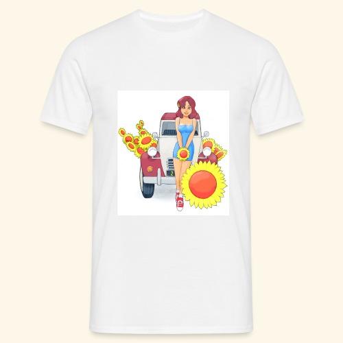 2cvSunflowersII - Maglietta da uomo
