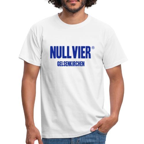 NULLVIER BLUE - Männer T-Shirt