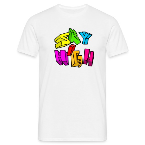 Sky high - T-shirt herr